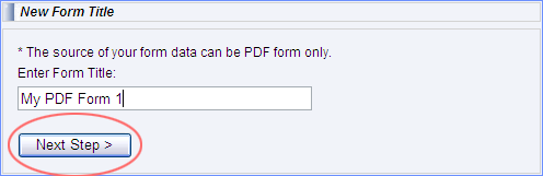 Tracking PDF forms
